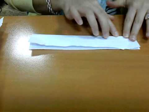 Cómo hacer un lápiz de papel