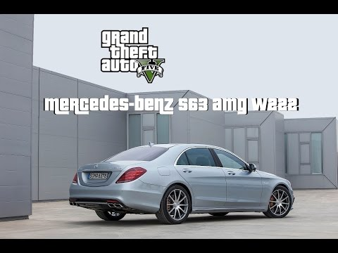 GTA 5 Car Mod Reviews   Episode 1   Mercedes-Benz S63 W222 AMG - LWB