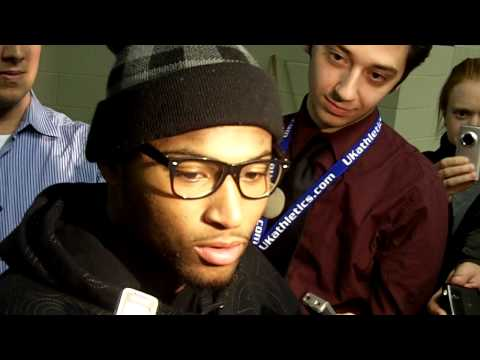 DeMarcus Cousins talks about his play against Vanderbilt Video