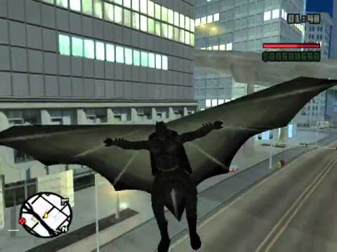 GTA San Andreas : The Dark Knight Begins (Mod & Parody)