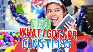 WHAT I GOT FOR CHRISTMAS 2016! WHAT I GOT FOR XMAS