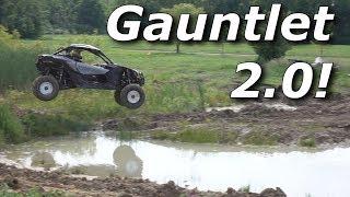 RZR Turbo S vs Maverick X3 vs Talon on Gauntlet 2.0!