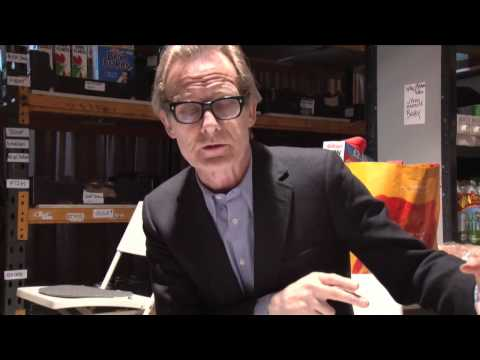 Bill Nighy Visits A  Food Bank