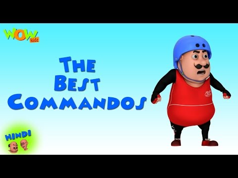 The Best Commandos - Motu Patlu in Hindi - 3D Animation Cartoon for Kids -As on Nickelodeon thumbnail