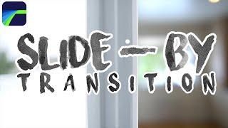 LumaFusion - SLIDE/WALK-BY Transition Effect Tutorial