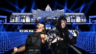 WWE WRESTLEMANIA 33 The Undertaker vs. Roman Reigns
