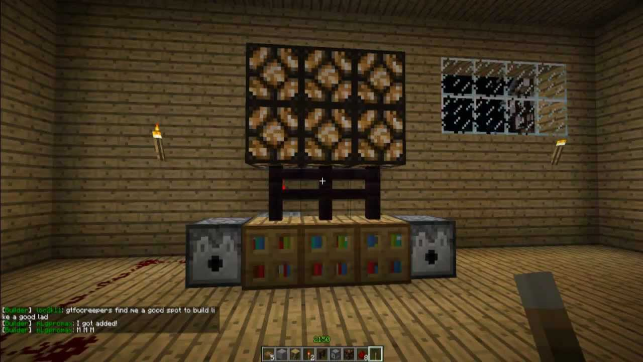 How To Make A Television In Minecraft Minecraft Furniture Episode 17 Youtube