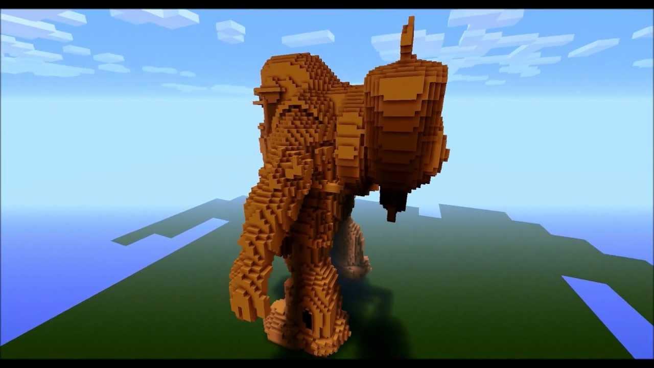 Big Daddy Rosie in Minecraft