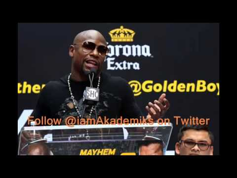Floyd Mayweather Jr. Officially Responds to 50 Cent 'We Are Not Friends'