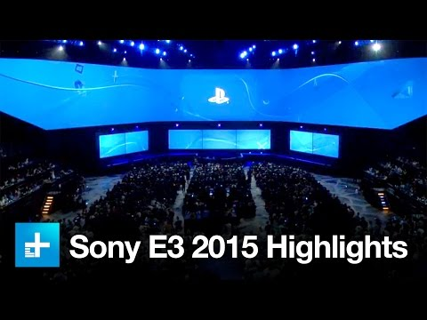 Sony PlayStation E3 2015 Press Conference - Recap