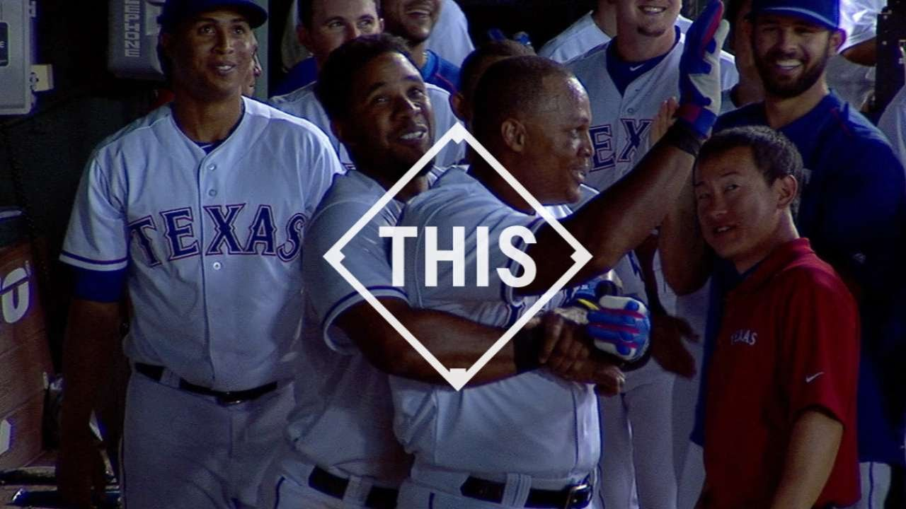 #THIS: Beltre joins elite company with third cycle