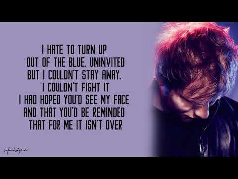 Ed Sheeran - Someone Like You
