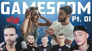 DAS ERSTE MAL mit ANNI THE DUCK | Gamescom MAGIC Vlog | I AM SOS