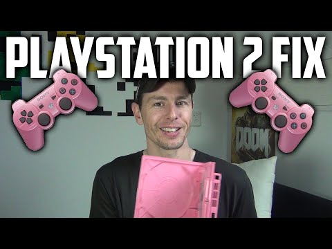 Fixing My Pink Playstation 2 Slim