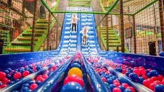 Fun at Busfabriken Megacenter Indoor Playground