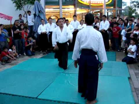 Aikido Tanto Dori by Cris Buenaseda (5th Dan) Philippines Image 1