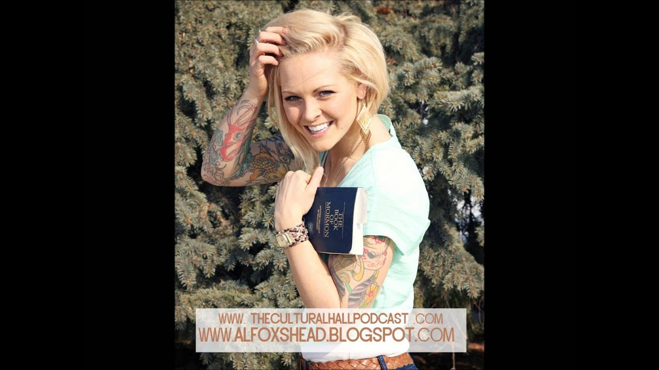 Tattooed mormon interview on the cultural hall youtube for Tattoo girl book