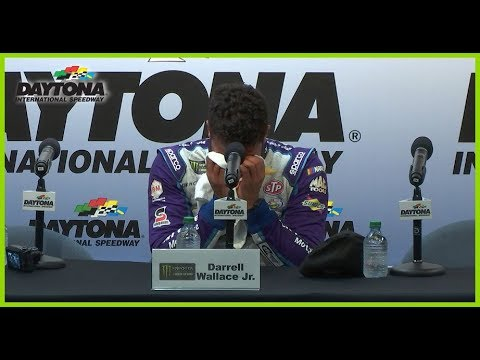 Wallace Jr. breaks down following second-place finish at Daytona