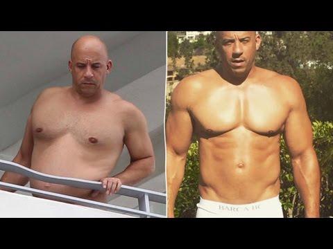 12 transformaciones Extremas de Actores  para películas
