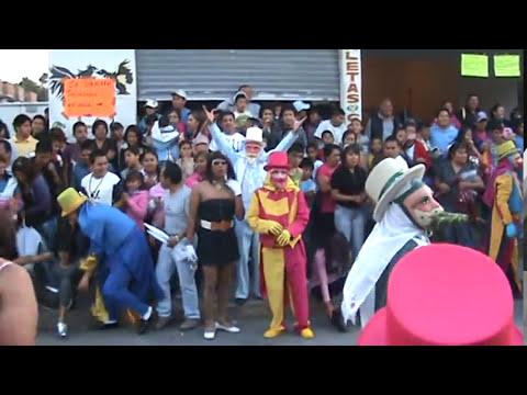 Carnaval Cuanalan 2012 Cuadrilla de arriba