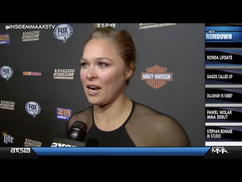 When Will We See Ronda Rousey Again Plus Other News on Inside MMA