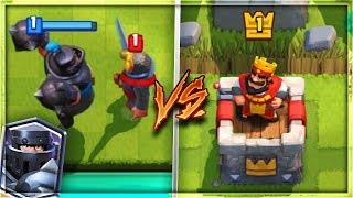 MEGA KNIGHT vs ARENA 1 NOOBS! | Clash Royale