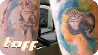 Coole Watercolour Tattoos | taff | ProSieben