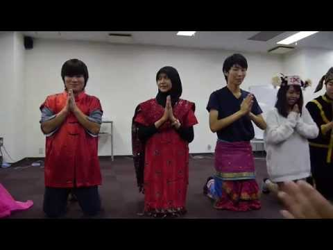 2014 ASEAN YOUTH FESTIVAL part1 Malaysia