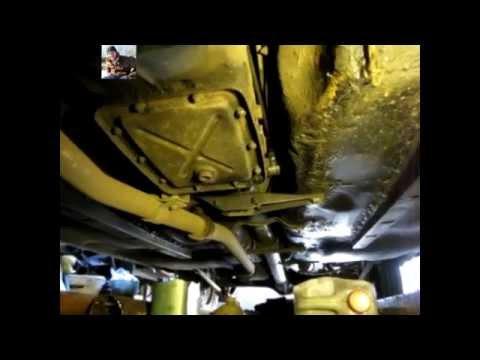 Замена масла в коробке передач ваз 2106