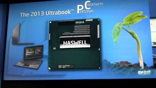 Intel Next Generation Processor Haswell Demo at IDF 2011
