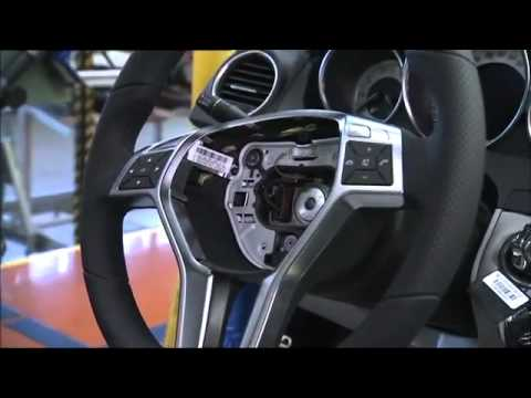 Mercedes Benz C Class Production Sindelfingen Footage