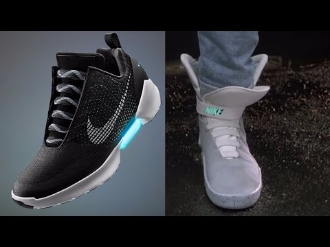 Nike has a release date for 'Back to the Future' inspired self-lacing sneakers