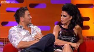Peter and Katie have a flap - The Graham Norton Show - BBC Two