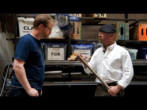Jamie Hyneman On Welding in His Workshop