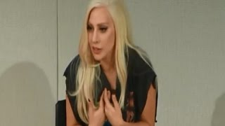 Lady Gaga talks about being who you really are