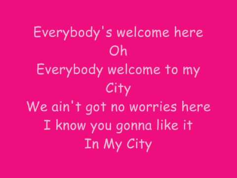 Priyanka Chopra Ft.will.i.am - In My City Lyrics video