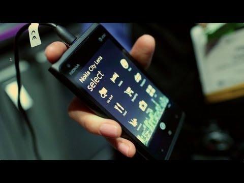 Nokia City Lens beta on Nokia Lumia 900 at 2012 CES