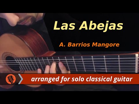 Las Abejas by A. Barrios Mangore (Classical Guitar)