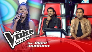 Vihangi Prarthana - Pruthugeesi Apita  Blind Auditions | The Voice Sri Lanka
