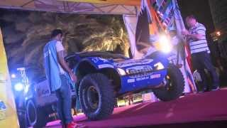 Jean Louis Schlesser before Sealine Cross Country Rally 2013