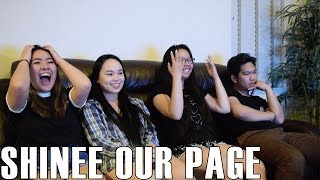 SHINee (샤이니) - Our Page (Reaction Video)