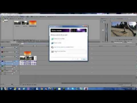 Film Burn Tutorial (Sony Vegas Movie Studio)