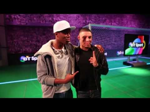 Behind the scenes: Alex Oxlade-Chamberlain vs KSI | #THEOX