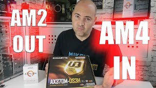 AMD Athlon 200GE Upgrade Build From AM2 X4 620 NO BENCHMARKS