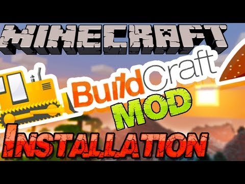 Minecraft 1.6.4 BUILDCRAFT Mod Installieren: Pipelines. Bau-Maschinen - Deutsch German Mac Win
