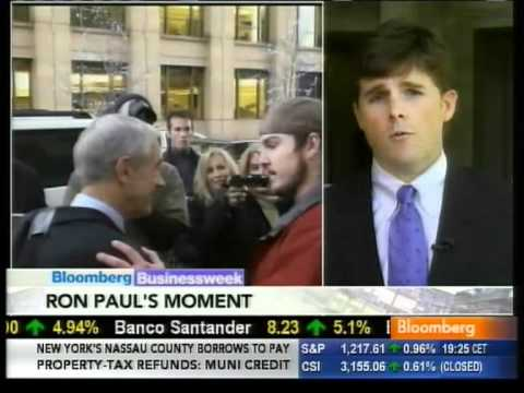 Ron Paul's Moment? on Bloomberg Dec 2 2010