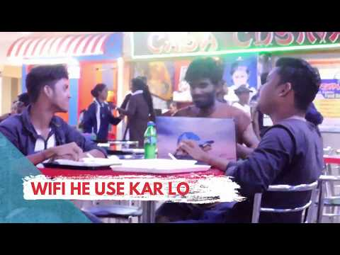 Bhikari In Laptop Prank | Begger In Laptop | Prank In India | Soch Te Raho