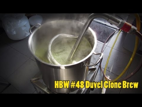 Homebrew Wednesday #48 Duvel Clone Brew!