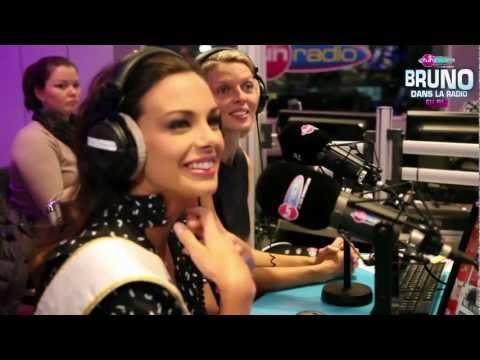 Marine Lorphelin, Miss France 2013 en exclu chez Bruno dans la Radio (Fun Radio)