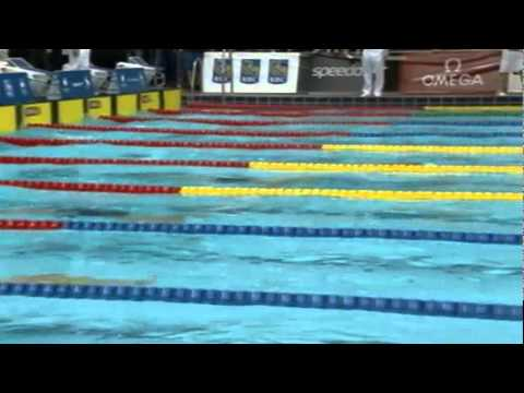 Olympic and paralympic trials 2012 day 1 100 breast H